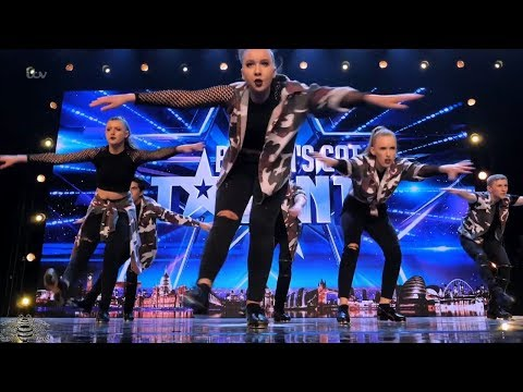 Britain's Got Talent 2018 Tap Attack Full Audition S12E06