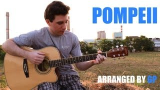 Bastille - Pompeii (fingerstyle guitar cover by Peter Gergely) [WITH TABS]