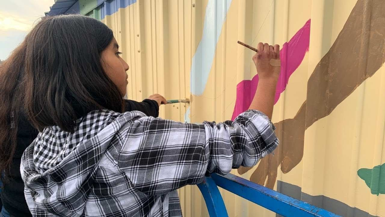 "Melanie Resendiz - Behind the Design of Letter ""T"" of EPA ROOTS Mural"