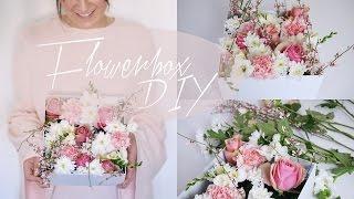 Flowerbox (Blumenbox) DIY