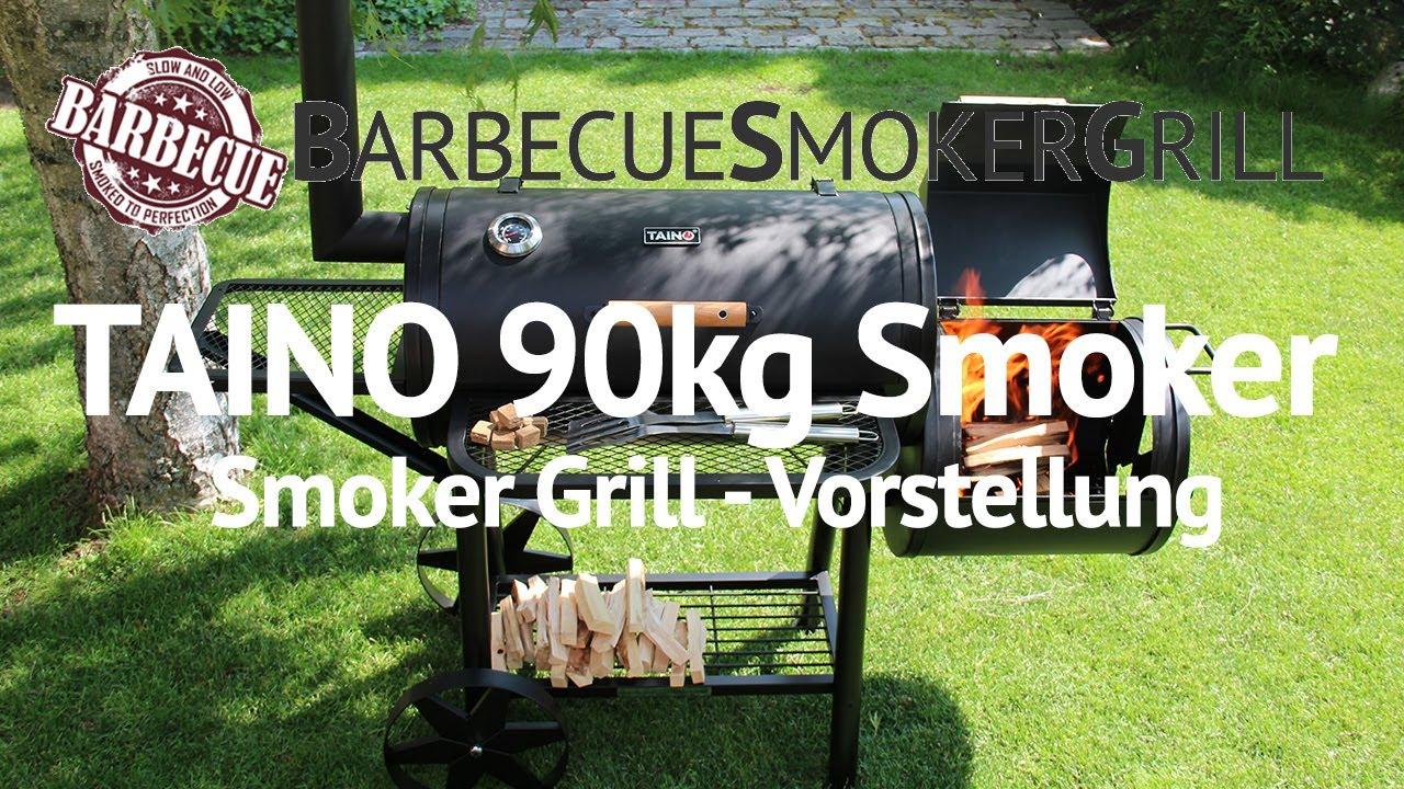 Taino Holzkohlegrill Test : Smoker grill taino kg profi xxl review erster eindruck youtube