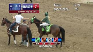 Ajax Downs July 23, 2017 Race 7