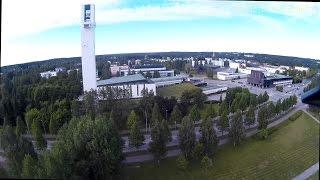 Kamerakopterilla yläilmoihin - Seinäjoki, Lakeuden puisto