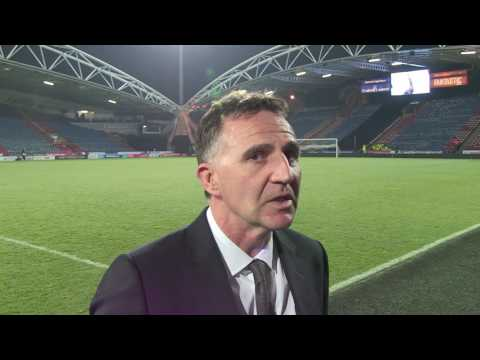 HUDDERSFIELD REACTION: Warren Joyce hails players for tremendous performance