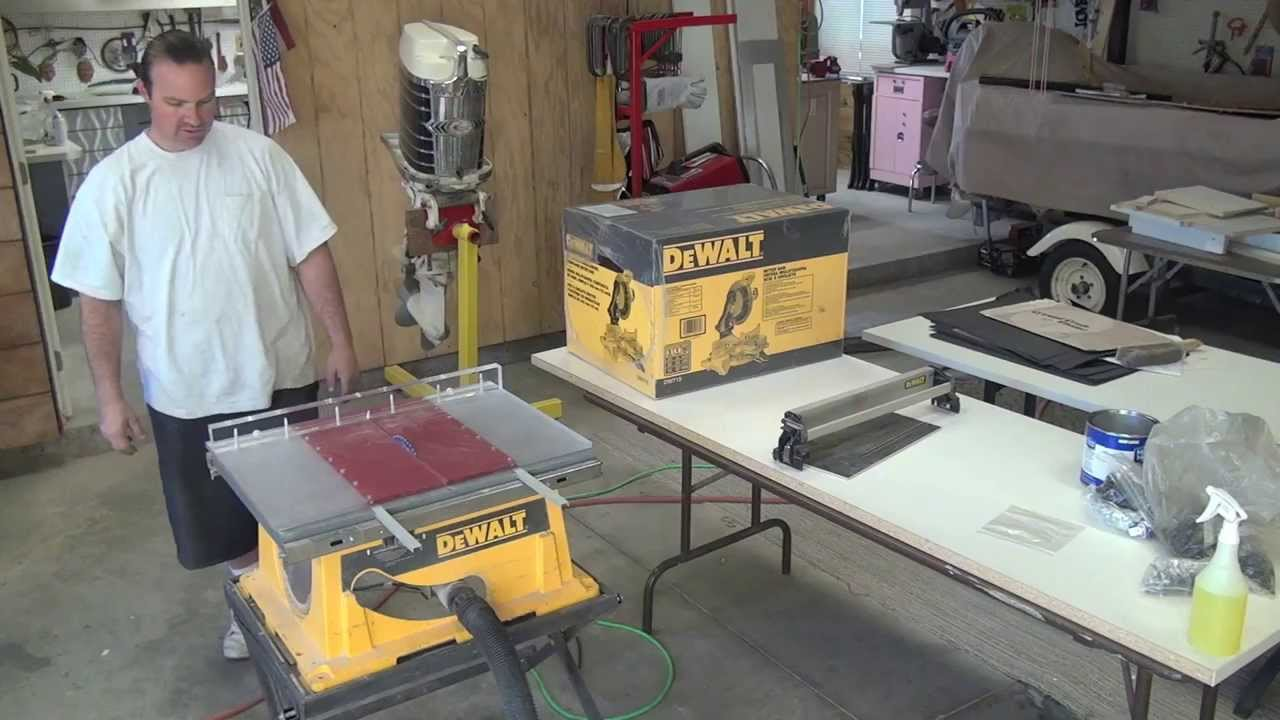 New Miter Saw DEAL , Made A Crosscut Sled U0026 Shop Talk   YouTube