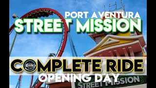 Sesame Street : Street Mission | PortAventura World | Complete ride HD