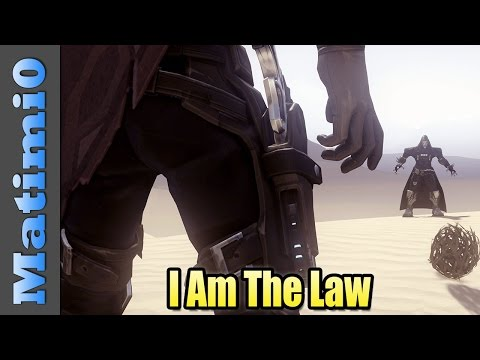 I Am The Law - Overwatch