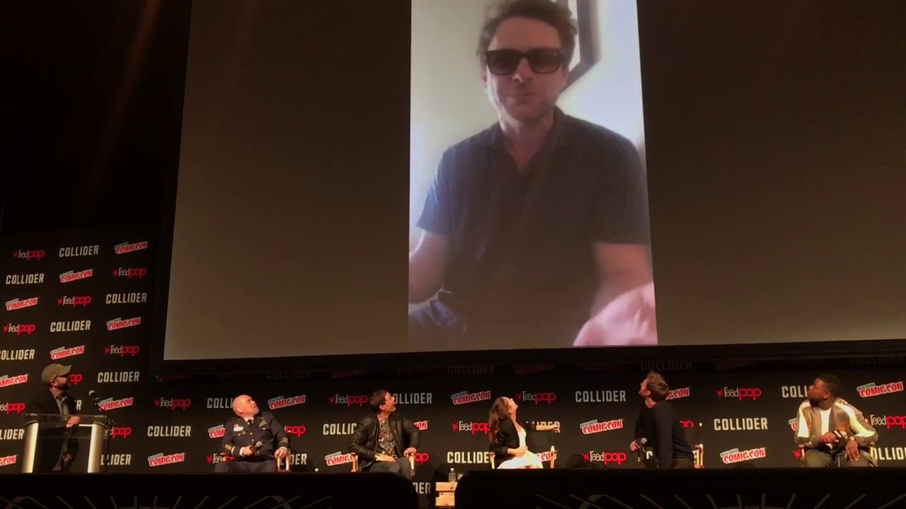 Charlie Day makes surprise video appearance at PACIFIC RIM: UPRISING panel (NYCC 2017)