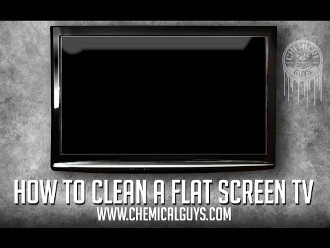 How To Clean a Flat Screen TV - Chemical Guys Signature Series