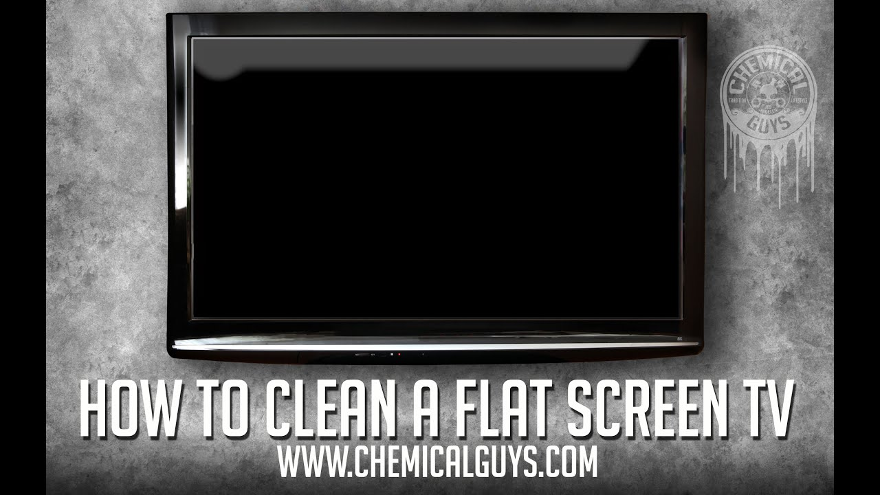 How To Clean a Flat Screen TV - Chemical Guys Signature ...