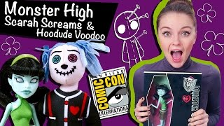 Scarah Screams & Hoodude Voodoo Comic Con (Скара Скримс и Худу Вуду Комик Кон) Monster High, X0590