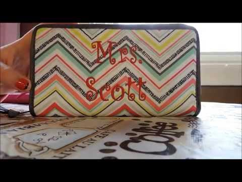 How I use my Thirty One coupon organizer