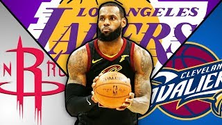 NBA Players Vote On Where LeBron Will Go In 2018