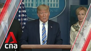COVID-19: President Donald Trump says US will
