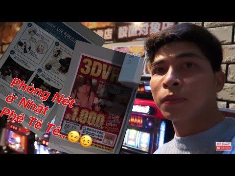 VLOG   Cuộc Sống Nhật Bản : Ngủ Qua Đêm tại Quán internet ở Nhật Phê Không Tưởng