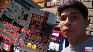 VLOG | Cuộc Sống Nhật Bản : Ngủ Qua Đêm tại Quán internet ở Nhật Phê Không Tưởng