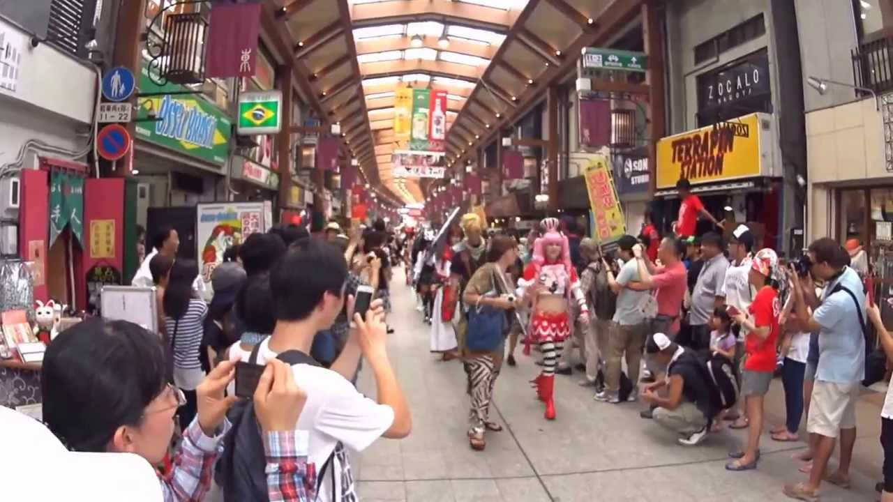 World Cosplay Summit 2015 - OSU Parade - YouTube b40c691e6717