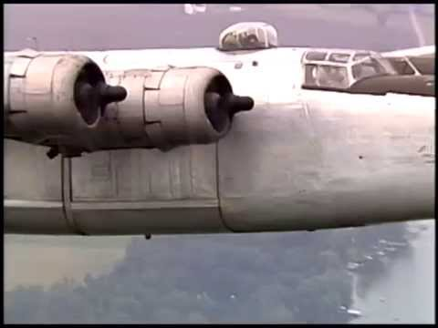 B-17 Flying Fortress, Avro Lancaster, and B-24 Liberator Flying Together for the First Time