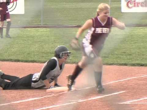 softball line drive to face.. my face!