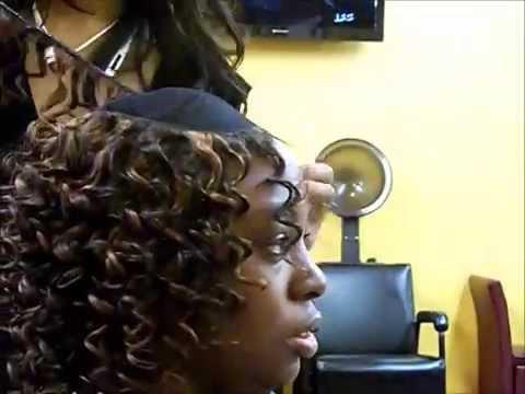 Curly Quickweave W Illusion Part Youtube