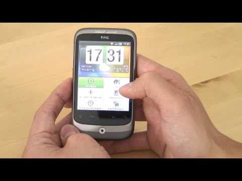 HTC Wildfire Test Bedienung