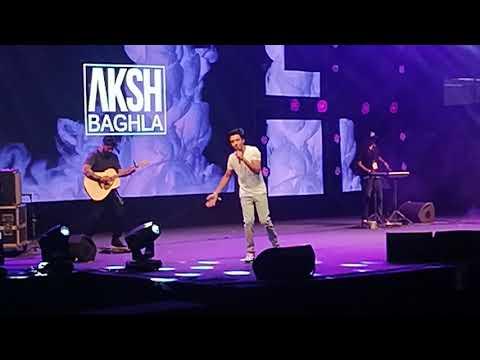 Youtube FANFEST 2018   AKSH BAGHLA Live   JLN Stadium Delhi