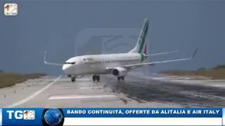 BANDO CONTINUITÀ, OFFERTE DA ALITALIA E AIR ITALY