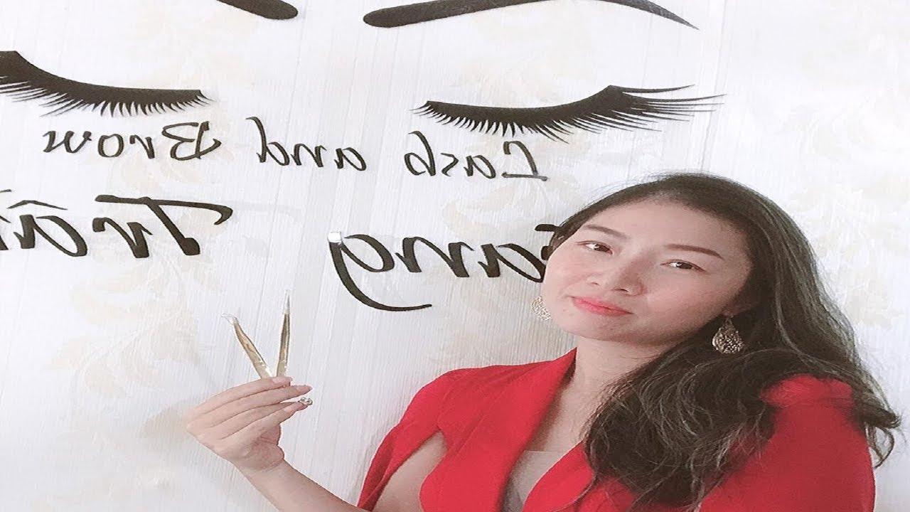 Cách làm logo và chèn hình Với Trang Trần Eyelash | Học Nối Mi Online l Kỹ Thuật Một Nhíp
