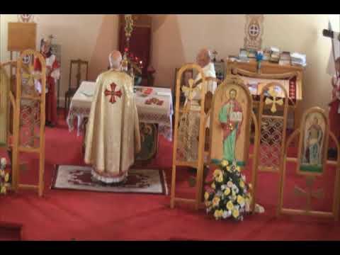 Divine Liturgy at Holy Ghost Ukrainian Catholic Church Saturday, August 26, 2017: