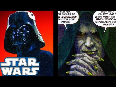 Sidious SENSED Darth Vader's Thoughts - Star Wars Comics Explained