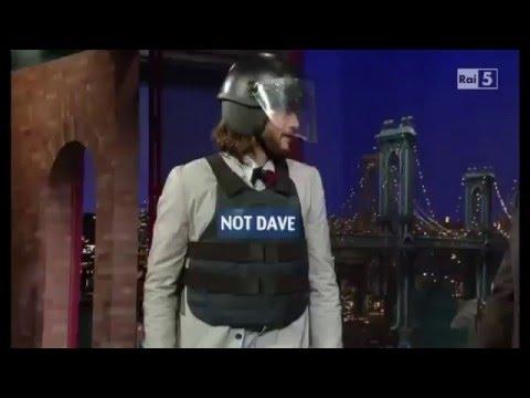 Ashton Kutcher David Letterman interview