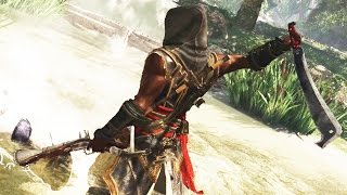 Assassin's Creed Freedom Cry Flawless Brutal Machete & Blunderbuss Finishing Moves/Counter Kills