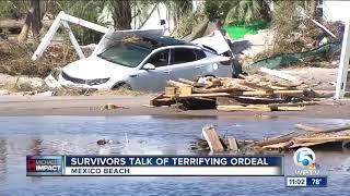 Hurricane Michael survivors talk of terrifying ordeal