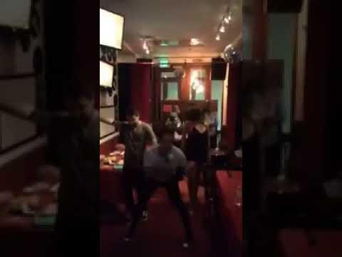 Emily Bett Rickards Drunk Dancing With Stephen Amell  Arrow