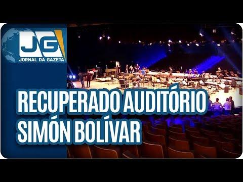 Recuperado Auditório Simón Bolívar