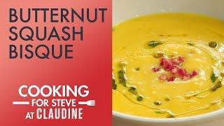 Cooking for Steve: Butternut Squash Bisque | Steve Harvey's Favorite Soup