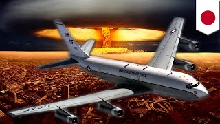 Nuke sniffer  Radiation detecting WC 135 aircraft sent to Japan after N Korea nuke test   TomoNews