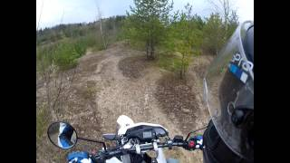 Yamaha WR125R | Offroad Tongrube 3 | GoProHD