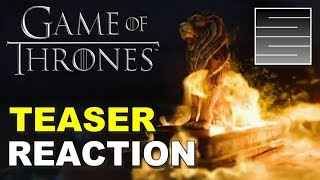 Game of Thrones | Season 8 | Official HBO Teaser Reaction / Review!