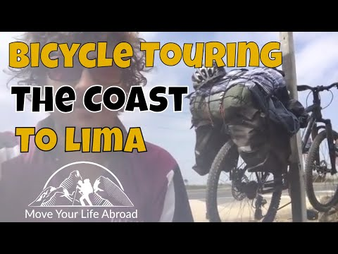 Bicycle Touring Along The Coast To Lima