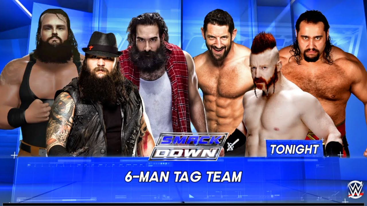 Wwe Smackdown 2k16 League Of Nations Vs Wyatt Family Ps4 Xbox One 720p Gameplay Hd Youtube