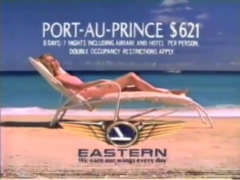 Eastern Airlines TV Commercial, the Bahamas 1985