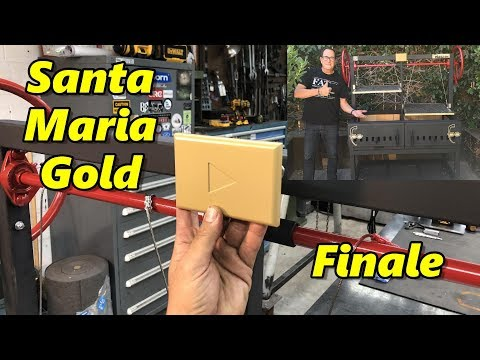 Machining a YouTube Gold Play Button Part 4