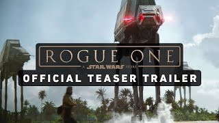 ROGUE ONE: A STAR WARS STORY Official Teaser Trailer(Get your first look at ROGUE ONE: A STAR WARS STORY in theaters this December. Visit Star Wars at http://www.starwars.com Subscribe to Star Wars on ..., 2016-04-07T11:49:27.000Z)