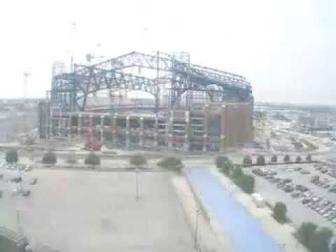 Lucas Oil Stadium Construction Time Lapse