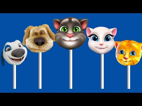 Talking Tom and Friends 2 Nursery Rhymes For Children