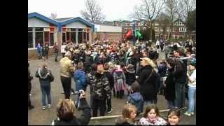 This Video Previously Contained A Copyrighted Audio Track. Due To A Claim By A Copyright Holder, The Audio Track Has Been Muted.     Flashmob I.c.b. De Vuurvogel Zaandam