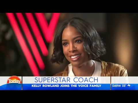 TODAY Kelly Rowland joins The Voice