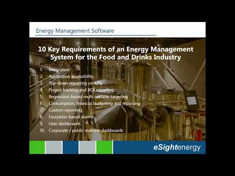 10 Key Requirements of an Energy Management System for the Food and Drinks Industry