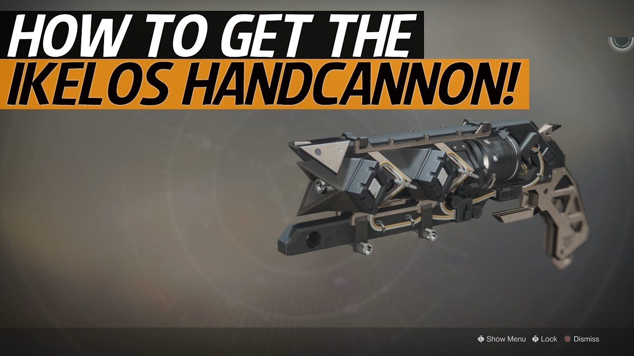 how to get ikelos weapons